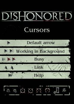 Dishonored Cursors