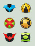 Custom DC Icons II by buggeye
