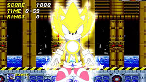 Super Sonic Gif (Check Description) by SAJ-Man