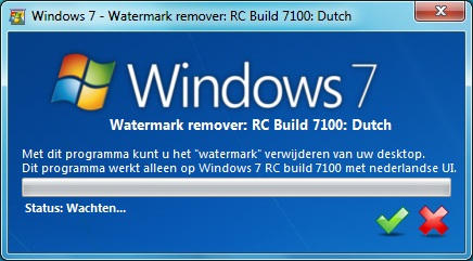 windows 7 watermark remover