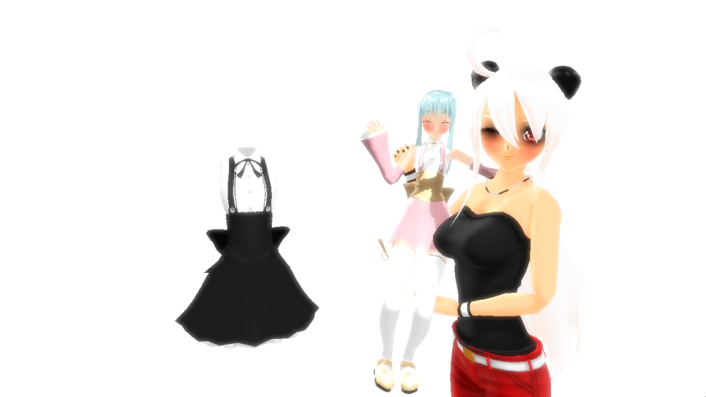 Maid Dress DL by PuffJiggly