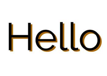 Hello by TheBronyRailfan