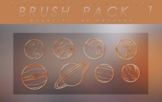Brush Pack 1 - The Planets