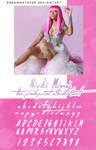Nicki Minaj The Pinkprint Album Font