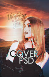 Thinking About You - PSD COVER by reeawhatever