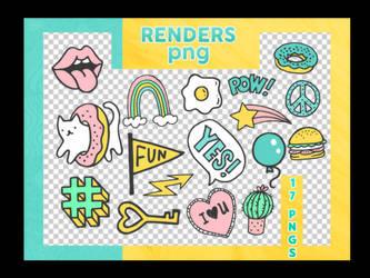 Renders Png - Stickers by reeawhatever