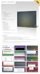 Win7-Blend for Windows 7 v1.8 by zainadeel