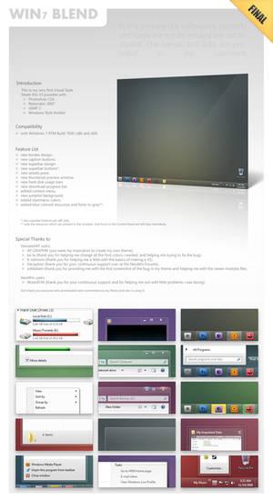 Win7-Blend for Windows 7 v1.8