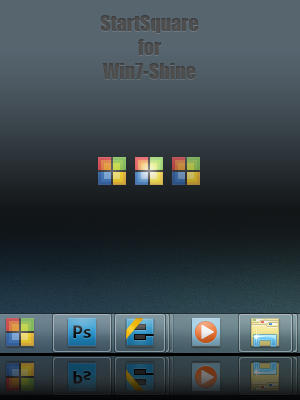 StartSquare for Win7-Shine by zainadeel