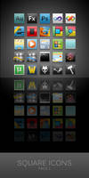 Square Icons for Win7-Shine 1