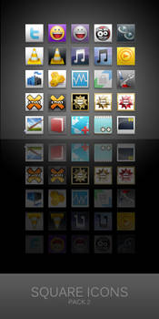 Square Icons for Win7-Shine 2