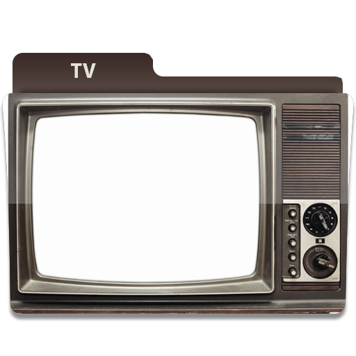 Tv show folder icon by leftright on deviantart for Craft shows on tv