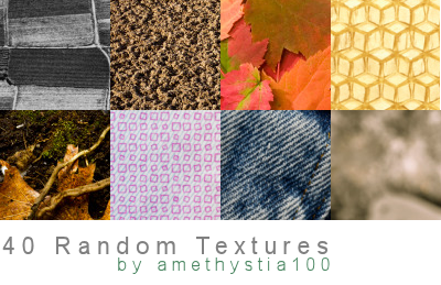 40 Random Textures by Rauvinne