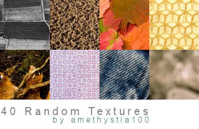 40 Random Textures