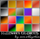 Halloween Gradients by Rauvinne