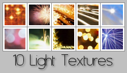 Light Textures 2 by Rauvinne