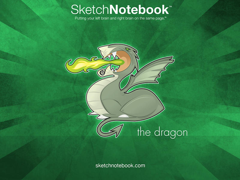 SKNB Desktop Dragon by WarBrown