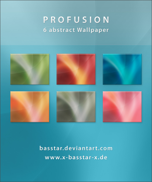 Profusion Wallpaper Pack - 6x
