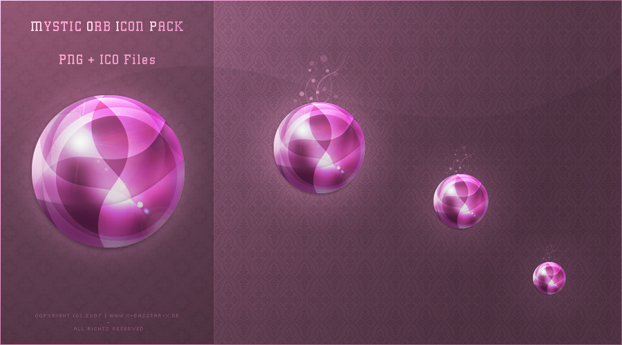 Mystic Orb Icon Packet