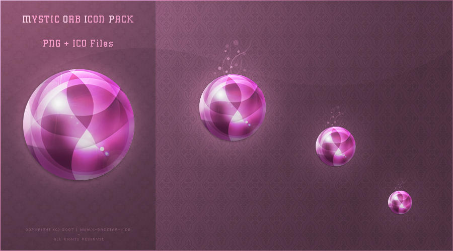 Mystic Orb Icon Packet by basstar