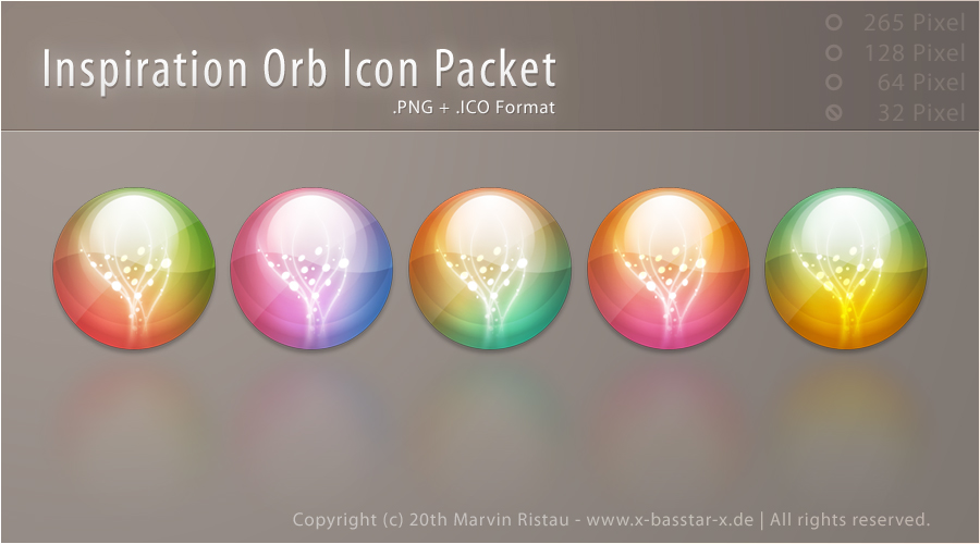 Inspiration Orb Icon Packet