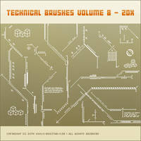 Technical Brushes vol. 8 - 20x by basstar