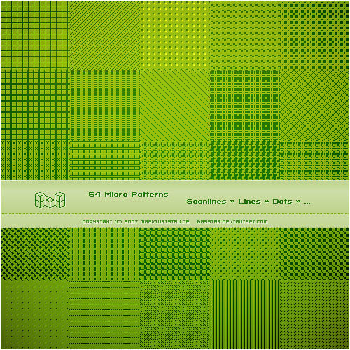 Micro Patterns by basstar