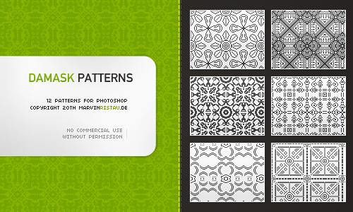 Damask Patterns by basstar
