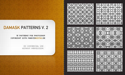 Damask Patterns Volume 2 by basstar