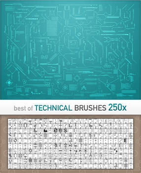 Technical Brushes BEST OF 250x