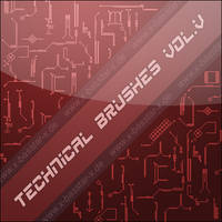 Technical Brushes vol. 5 - 25x by basstar