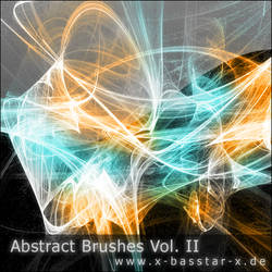 Abstract Brushes vol. 2 - 10x by basstar