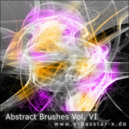 Abstract Brushes vol. 6 - 10x by basstar