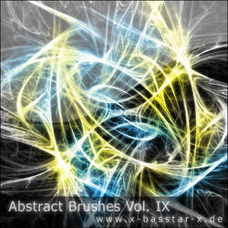 Abstract Brushes vol. 9 - 10x by basstar