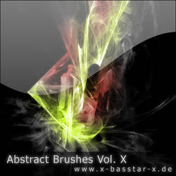 Abstract Brushes vol. 10 - 10x by basstar
