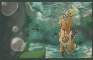 Fan Art: Natural Swimmer by Wooled