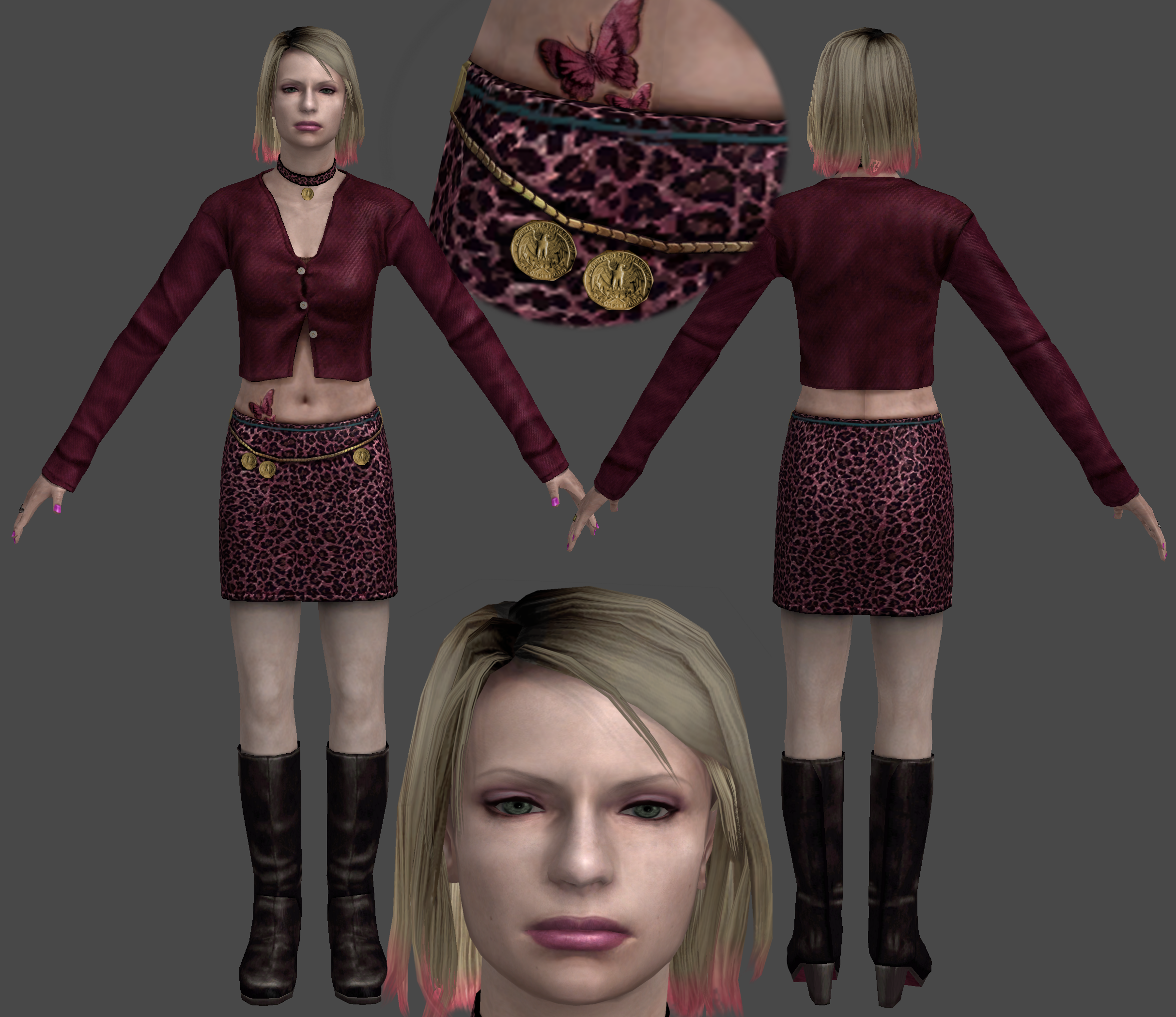 Sh2 On Xnalara Customized Deviantart