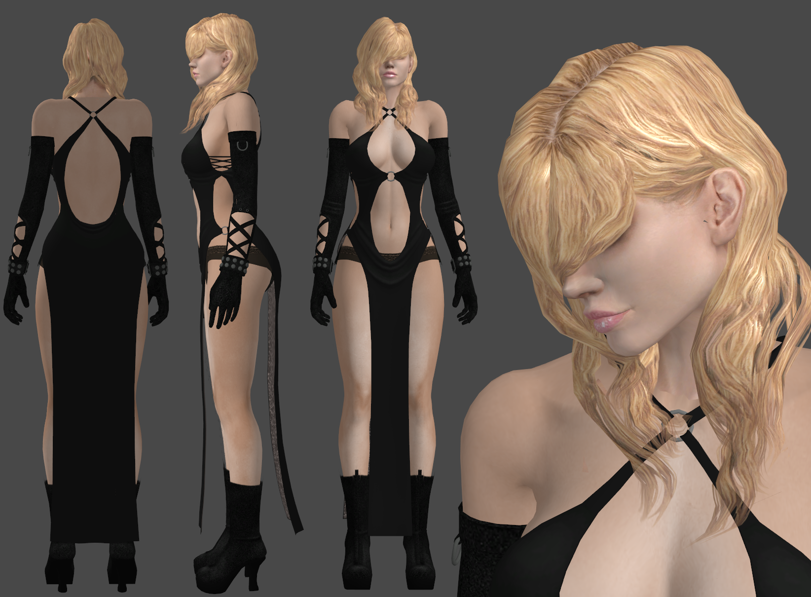 Rachael dress by XXMAUROXX