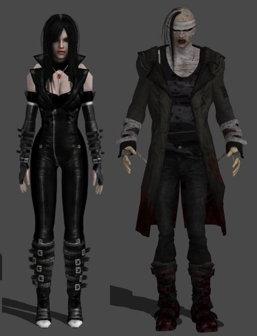 Reemplazar a Leon por Wallace Nightmare Creatures Nightmare_creatures_pack_xnalara_by_xxmauroxx-d70u91y