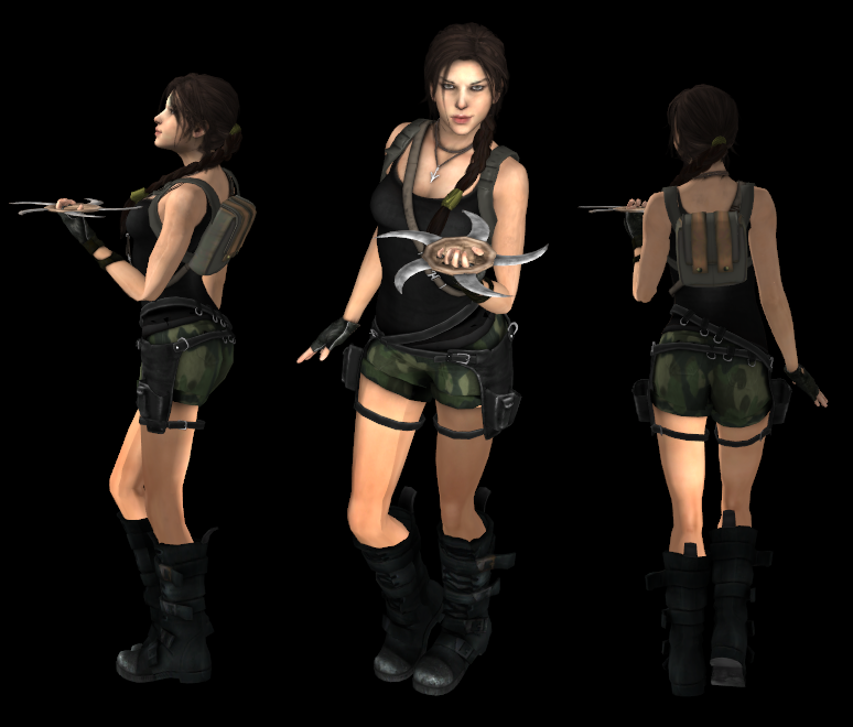 TOMBRAIDER Lara AOD short by xxmauroxx by XXMAUROXX