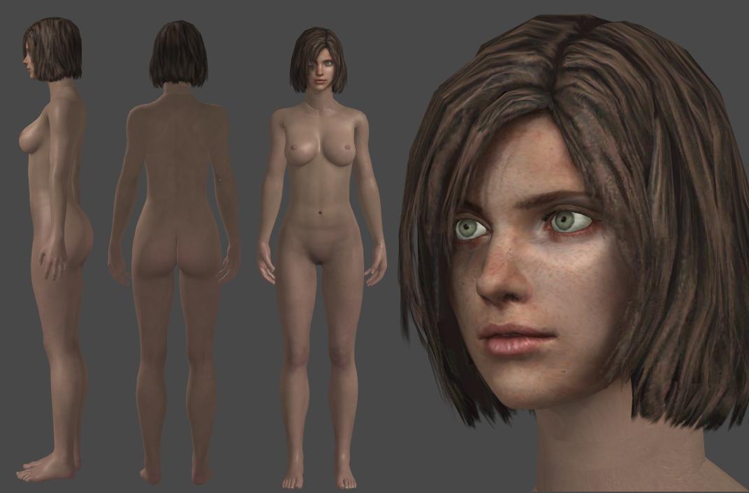 Eileen Nude by XXMAUROXX