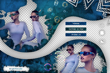 Pack png Rihanna 09 by BrightClouds