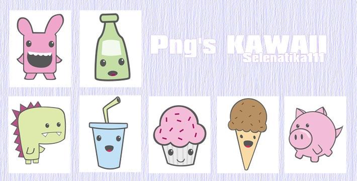 Pack Png's Kawaii by selenatika111