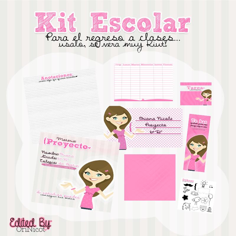 Kit Escolar ByOriNicot by OriNicot