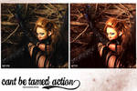 Cant be tamed action