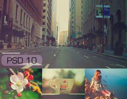 PSD 10 by touchingandkissing