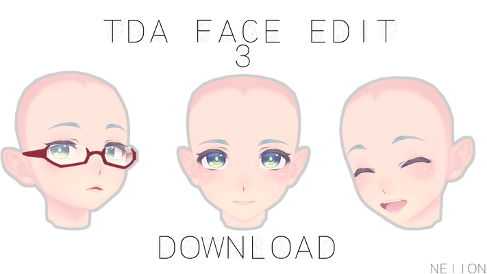 MMD | TDA Face Edit #3 | DL