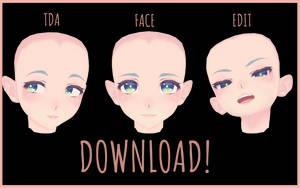 [mmd] TDA Face Edit #3 [download] by neiion