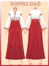 |mmd| CM3D2 Karate Outfit |dl| by neiion