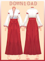 |mmd| CM3D2 Karate Outfit |dl| by detheye